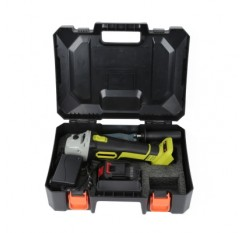 21V Cordless Angle Grinder with Storage Box