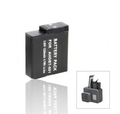 3.85V/1220mAh Li-ion Battery for Gopro Hero 5 / 6