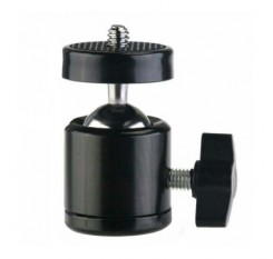 Mini-Metal Spherical Universal Small PTZ Black