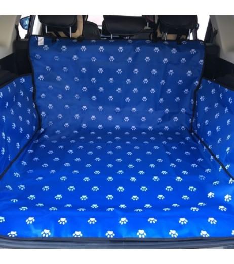 600D Oxford Cloth Printing Waterproof Pet Dog Cat Car Trunk Cover Pet Blanket
