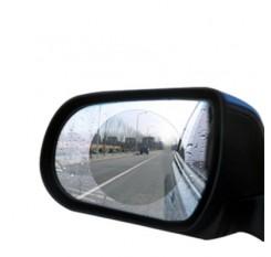 Car Rearview Mirror Water-Resist Protective Membrane Anti-Fog Anti-Glare Sticker