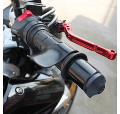 Motorcycle Throttle Clamp Cruise Control Grips Refueling Booster