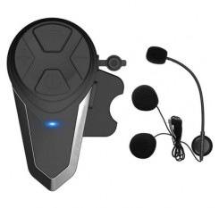 BT-S3 Motorcycle Helmet Bluetooth Headset Wireless Riding Motorcycle Helmet 1000 Meters Built Walkie