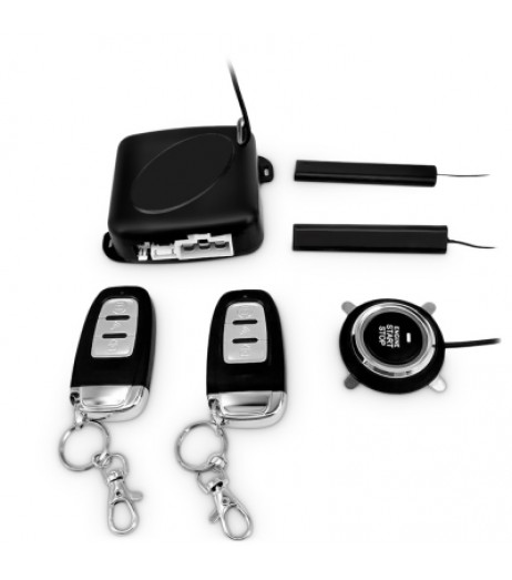 C6 - B Push Button Start System Car Security Alarm Engine Starter