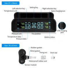 AutoLover C260 Tire Pressure Monitoring System