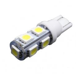 10PCS Super  T10 194 168 W5W 5050 9SMD 9 Led Lights Indication Lamps 12V