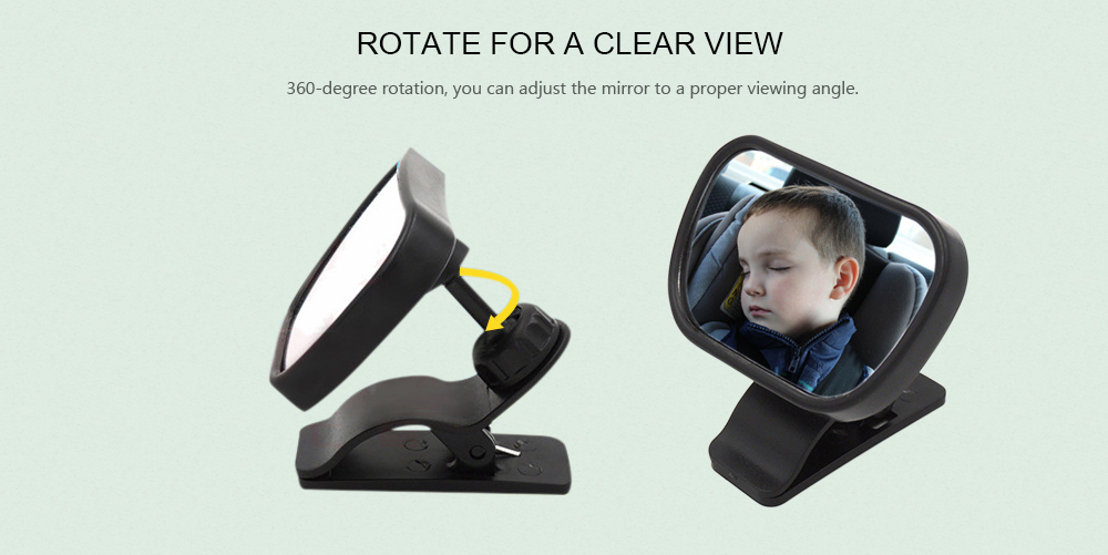 Car Kids Safety Monitor Baby Backseat Rear View Mirror